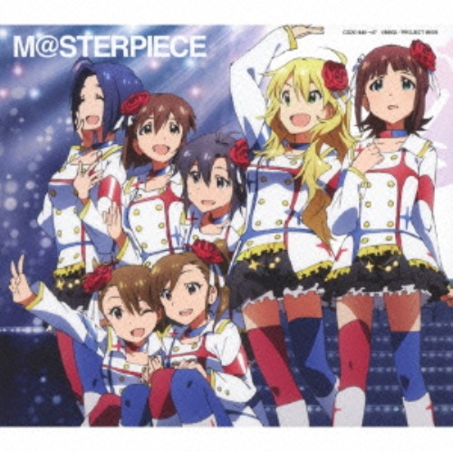 【中古】M@STERPIECE(初回限定盤)(ブルーレイ付)/765プロオールスターズ