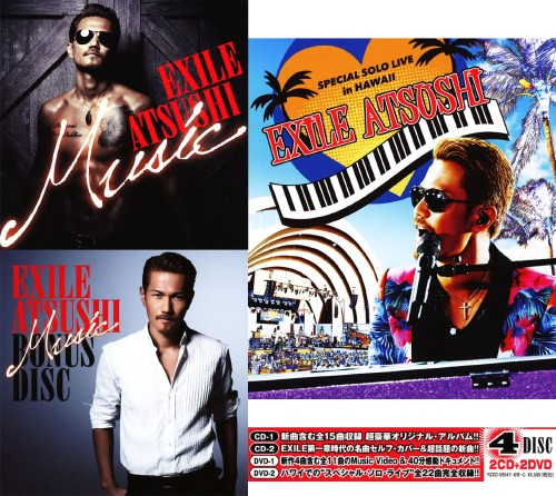 【中古】Music(初回限定盤)(2CD+2DVD)/EXILE ATSUSHI