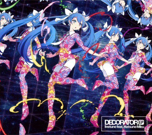【中古】DECORATOR EP(初回限定盤)(DVD付)/livetune feat.初音ミク