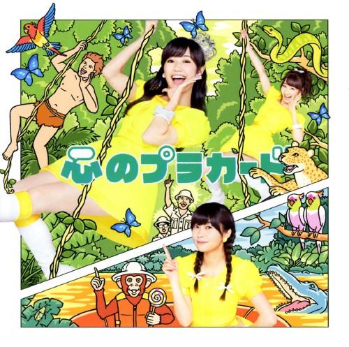 【中古】心のプラカード(DVD付)(Type C)/AKB48