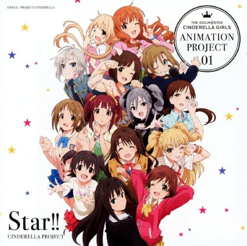 【中古】THE IDOLM@STER CINDERELLA GIRLS ANIMATION PROJECT 01 Star!!/CINDERELLA PROJECT