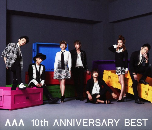 【新品】AAA 10th ANNIVERSARY BEST(2CD+DVD)/AAA