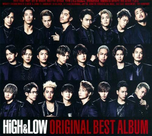 【中古】HiGH & LOW ORIGINAL BEST ALBUM(2CD+DVD)/オムニバス