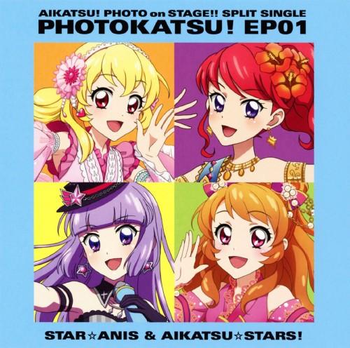 【中古】スマホアプ「アイカツ!フォトonステージ!!」スプリットシングル フォトカツ!EP 01/STAR☆ANIS/AIKATSU☆STARS!