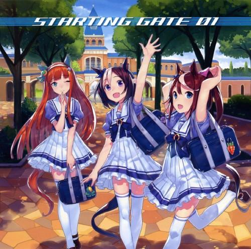 【中古】「ウマ娘 プリティーダービー」STARTING GATE 01/アニメ・サントラ