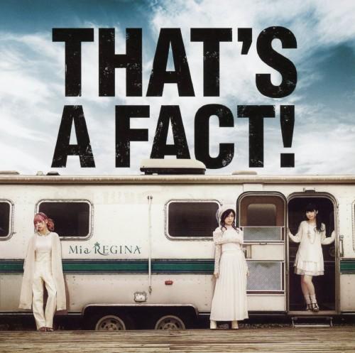 【中古】THAT'S A FACT!/Mia REGINA