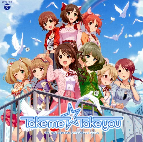 【中古】THE IDOLM@STER CINDERELLA MASTER Take me☆Take you/IDOLM@STER CINDERELLA GIRLS!!