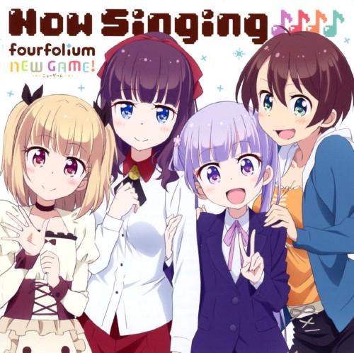 【中古】TVアニメ「NEW GAME!」キャラクターソングミニアルバム「Now Singing♪♪♪♪」/fourfolium