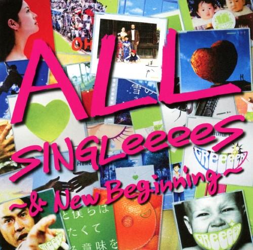 【中古】ALL SINGLeeeeS〜&New Beginning〜/GReeeeN