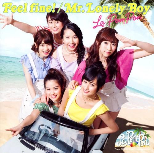 【中古】Feel fine!/Mr.Lonely Boy(初回限定盤)(DVD付)/La PomPon