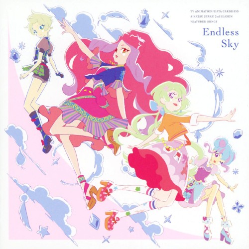 【中古】TVアニメ/データカードダス「アイカツスターズ!」挿入歌シングル「Endless Sky」/AIKATSU☆STARS!
