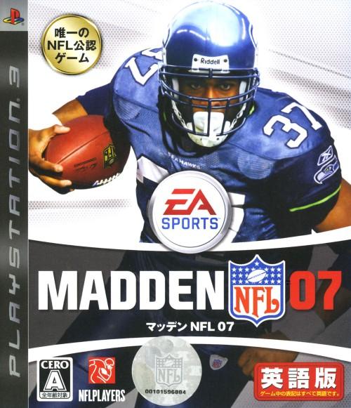 【中古】MADDEN NFL 07