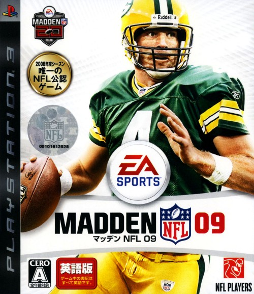 【中古】MADDEN NFL 09