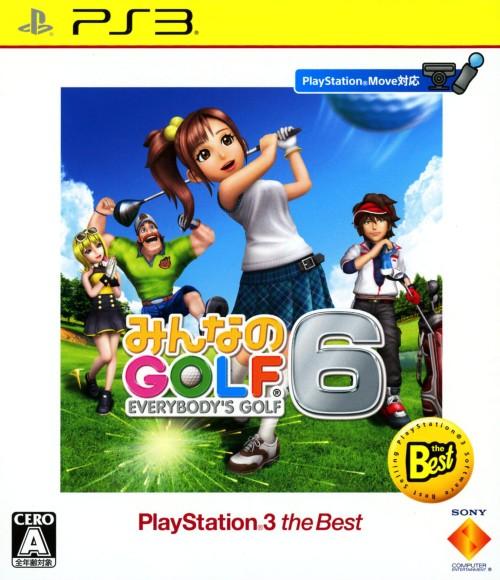 【中古】みんなのGOLF6 PlayStation3 the Best