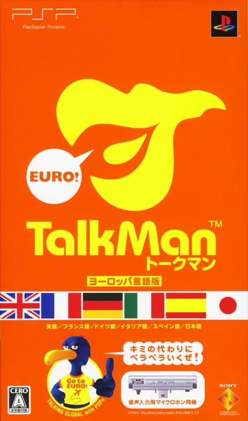 【中古】TALKMAN EURO −トークマンヨーロッパ言語版− 音声入力用マイクロホン同梱版 (同梱版)