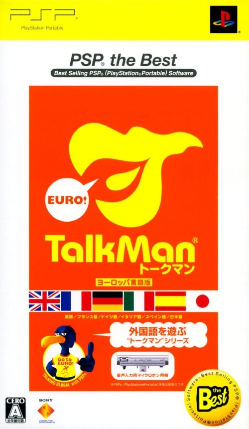 【中古】TALKMAN EURO −トークマンヨーロッパ言語版− 音声入力用マイクロホン同梱版 PSP the Best (同梱版)