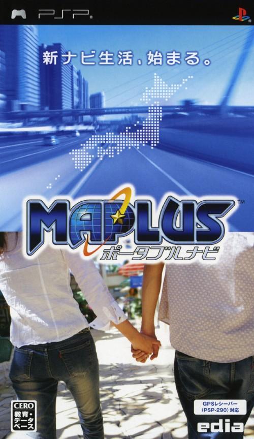 【中古】MAPLUS ポータブルナビ ソフト単体版