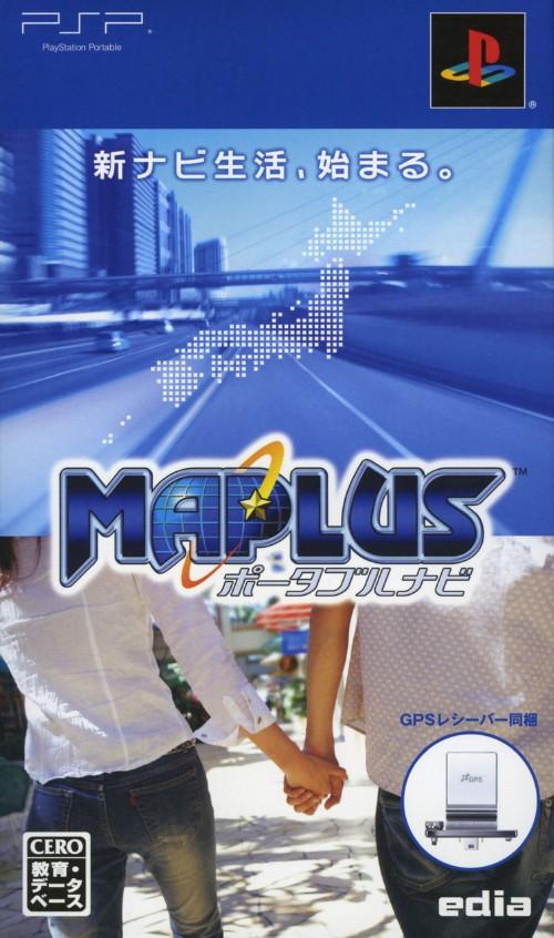 【中古】MAPLUS ポータブルナビ GPSレシーバー同梱 (同梱版)