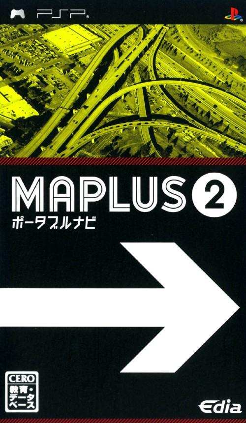 【中古】MAPLUS ポータブルナビ2