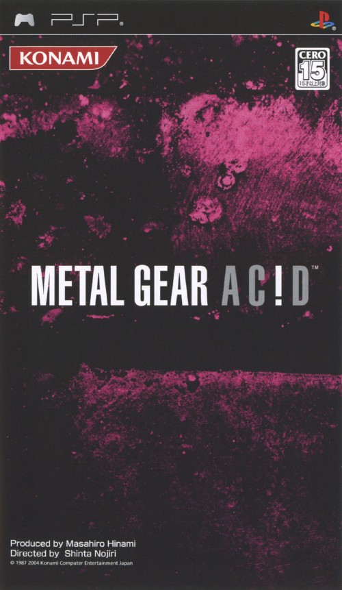 【中古】METAL GEAR AC!D