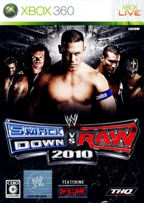 【中古】WWE 2010 SmackDown vs Raw
