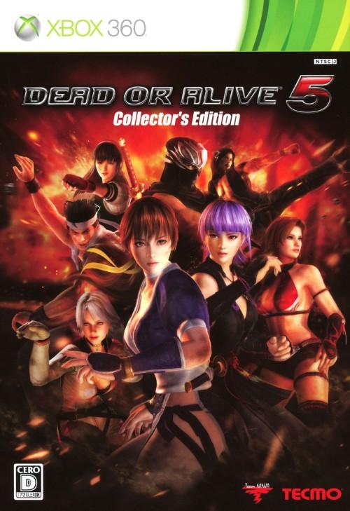 【中古】DEAD OR ALIVE5 コレクターズエディション (限定版)