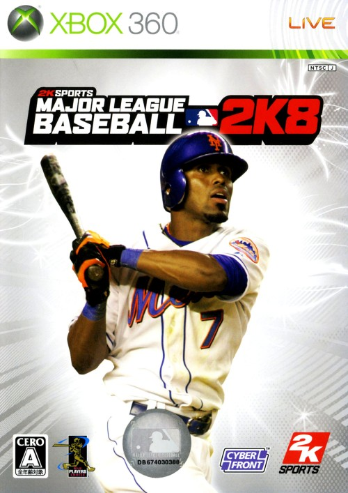 【中古】MAJOR LEAGUE BASEBALL 2K8