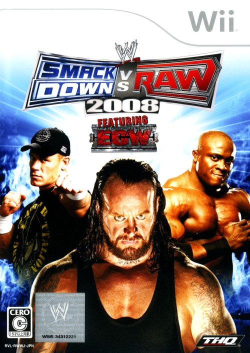 【中古】WWE 2008 SmackDown vs Raw