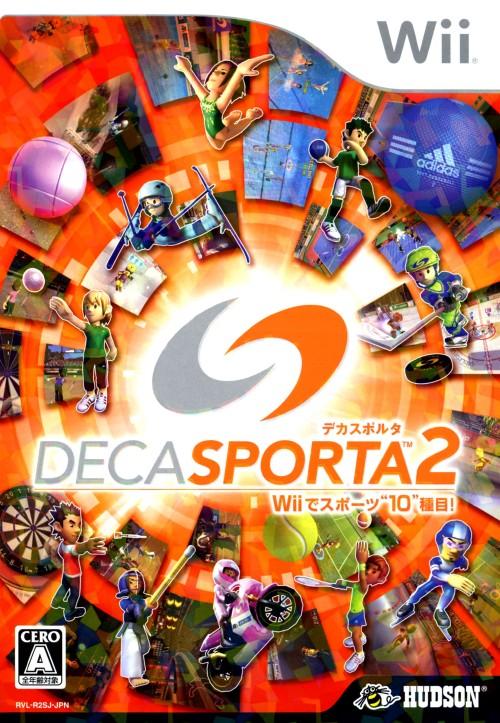 【中古】DECA SPORTA2 Wiiでスポーツ10種目!