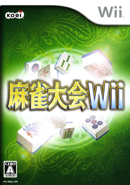 【中古】麻雀大会Wii