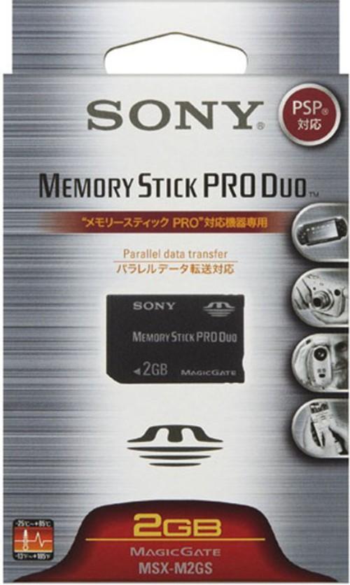 【中古】ソニー/メモリースティックPRO Duo 2G