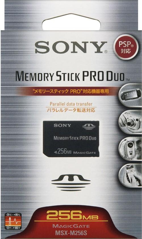 【中古】ソニー/メモリースティックPRO Duo 256M