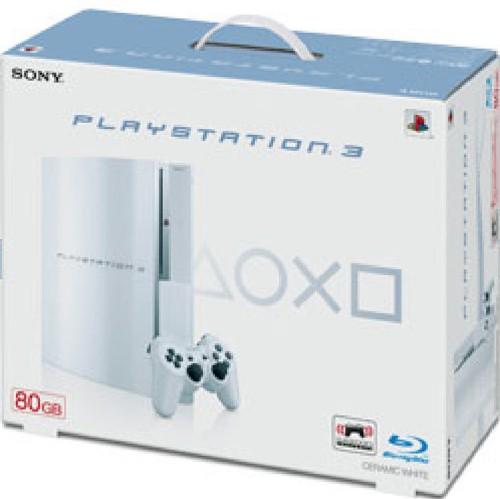 【中古・箱無・説明書無】PlayStation3 HDD 80GB CECH−L00CW セラミック・ホワイト