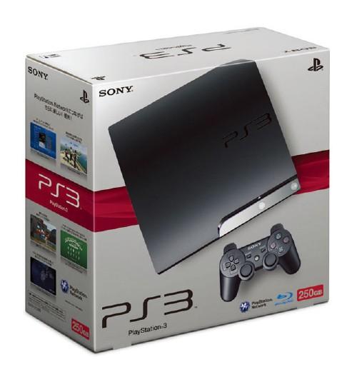 【中古・箱無・説明書無】PlayStation3 HDD 250GB CECH−2000B チャコール・ブラック