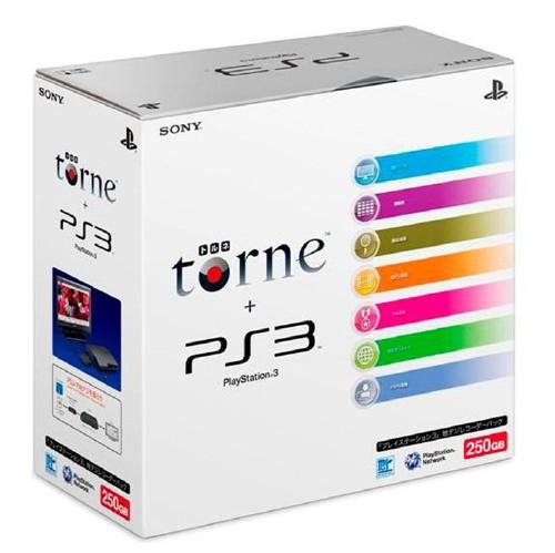 【中古・箱無・説明書無】PlayStation3 地デジレコーダーパック(torne(トルネ)同梱版)(250GB) CEJH−10010 (同梱版)