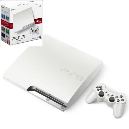 【中古】PlayStation3 HDD 160GB CECH−2500ALW クラシック・ホワイト