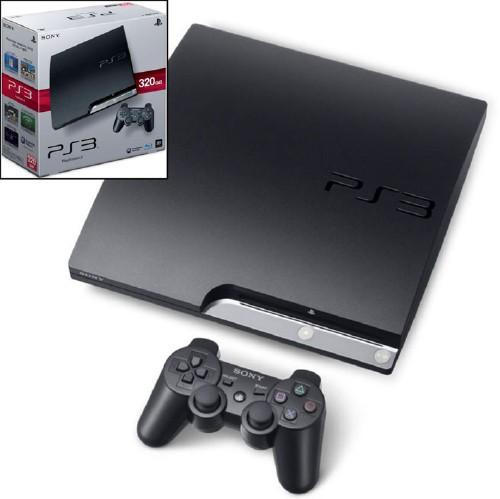 【中古・箱説あり・付属品あり・傷なし】PlayStation3 HDD 320GB CECH−2500B チャコール・ブラック