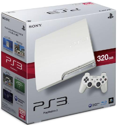 【中古・箱説なし・付属品なし・傷あり】PlayStation3 HDD 320GB CECH−2500BLW クラシック・ホワイト