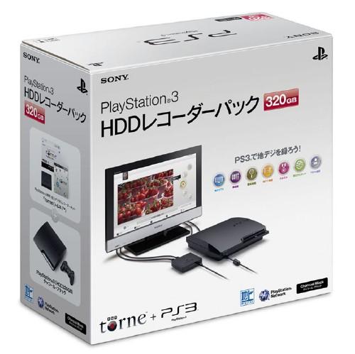 【中古・箱無・説明書有】PlayStation3 HDDレコーダーパック(torne(トルネ)同梱版)(320GB) CEJH−10013 (同梱版)