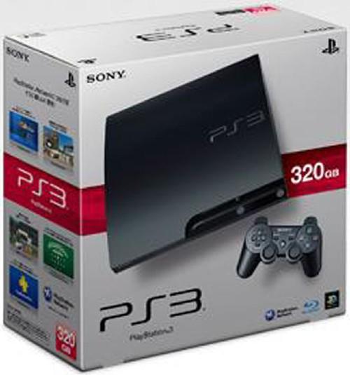 【中古・箱説なし・付属品なし・傷あり】PlayStation3 HDD 320GB CECH−3000B チャコール・ブラック