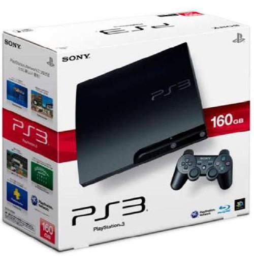 【中古・箱説なし・付属品なし・傷あり】PlayStation3 HDD 160GB CECH−3000A チャコール・ブラック