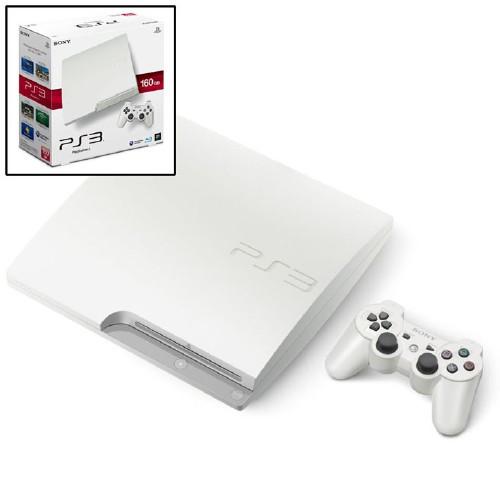 【中古】PlayStation3 HDD 160GB CECH−3000ALW クラシック・ホワイト