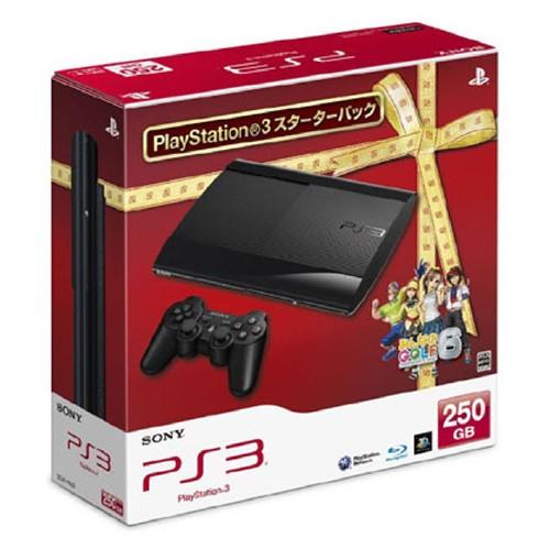 【中古・箱説あり・付属品あり・傷なし】PlayStation3 スターターパック チャコール・ブラック (限定同梱版)