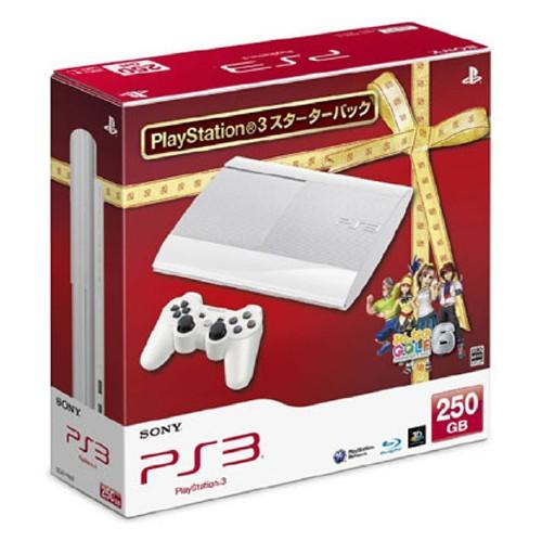 【中古・箱無・説明書有】PlayStation3 スターターパック クラシック・ホワイト (限定同梱版)
