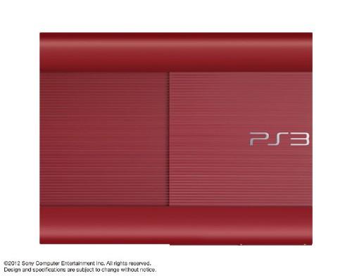 【中古・箱説なし・付属品なし・傷あり】PlayStation3 HDD 250GB CECH−4000BGA ガーネット・レッド (限定版)