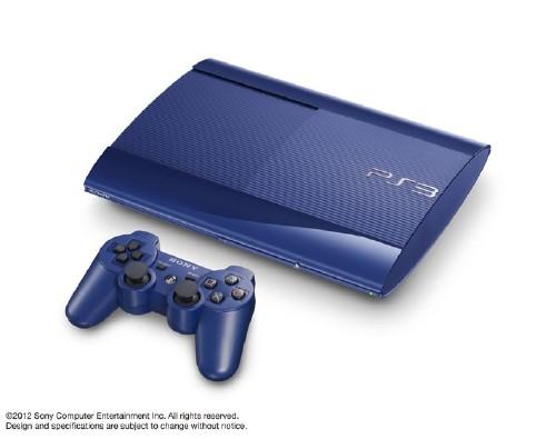【中古・箱説なし・付属品なし・傷あり】PlayStation3 HDD 250GB CECH−4000BAZ アズライト・ブルー (限定版)