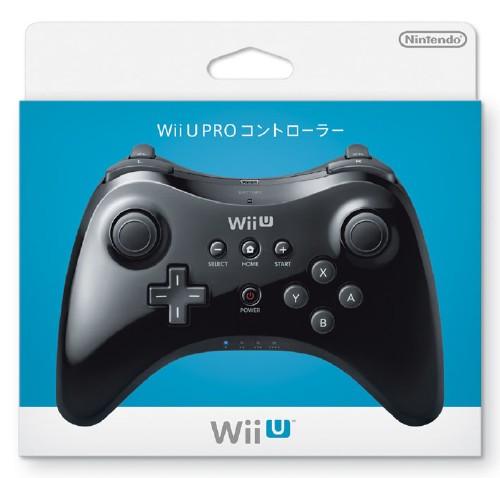 【中古】Wii U PRO コントローラー kuro
