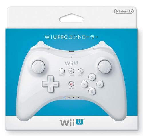 【中古】Wii U PRO コントローラー shiro