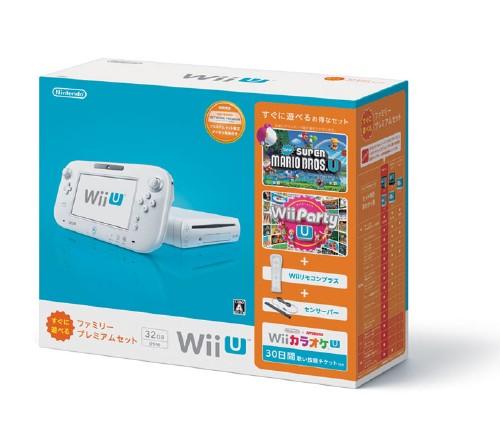 【中古・箱説なし・付属品なし・傷あり】Wii U すぐに遊べるファミリープレミアムセット (シロ) (同梱版)