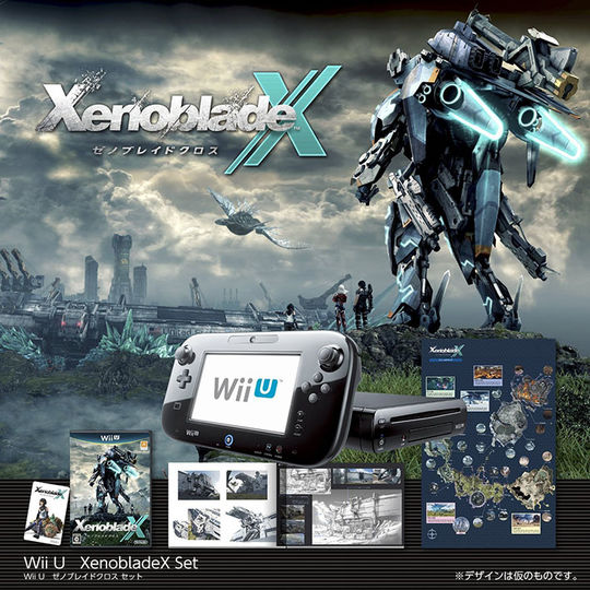 【中古】Wii U ゼノブレイドクロス セット (ソフトの付属は無し)